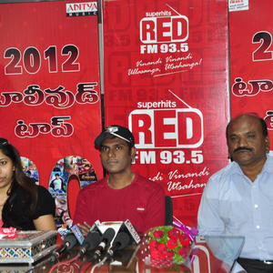 Anoop And Prateeka Spotted At Red FM 93.5 Event
