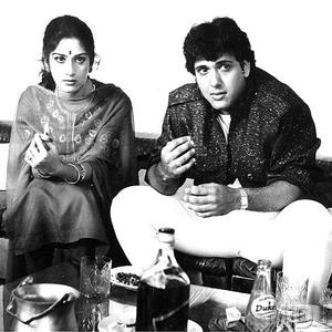 Govinda And Meenakshi Nice Still From The Film Awargi