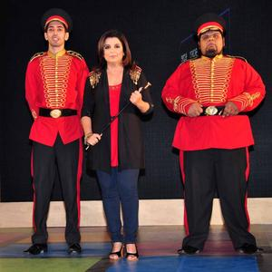 Farah Khan Posed For Camera At Sony MAX IPL Press Conference 2013