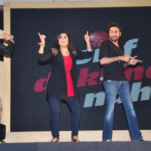 Gourav,Farah,Shekhar And Vishal Rocked At Sony MAX IPL Press Conference 2013