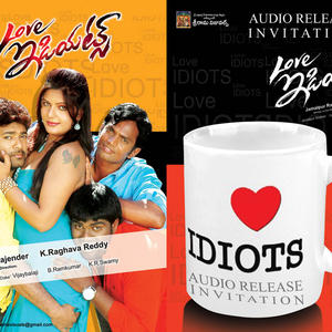 Shubash,Jiya,Ishak And Rama Crazy Look Photo Wallpaper Of Movie Love Idiots
