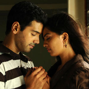 Ashwin And Srushti Sexy Expression Photo Still From Tamil Movie Megha
