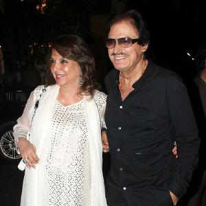Sanjay With Wife Zarine Nice Look At Farah Khan Ali Store Launch Party