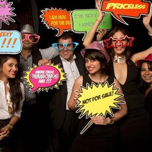 Farah Khan Ali And Others Funny Pose At Farah Khan Ali Post Launch Party