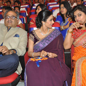 Boney,Sridevi And Pinky Present At TSR-TV9 National Film Awards 2011-2012 Presentation Function