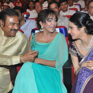 Lakshmi And Sridevi Cool At TSR-TV9 National Film Awards 2011-2012 Presentation Function