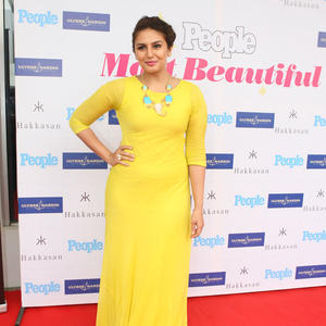 Huma Qureshi In Arpan Vohra At People Magazine Special Unveiling