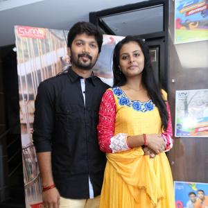Abhi And Gayathri Clicked During The Kerala Nattilam Pengaludane Audio Launch Function