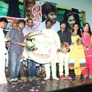 James Vasanthan,Ku Gnanasambandam,GV Prakash Kumar,SS Kumaran,Vairamuthu,Abhi,Abirami And Deekshita Clicked On The Stage At Kerala Nattilam Pengaludane Audio Launch Function
