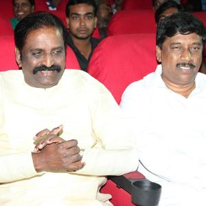Vairamuthu And Ku Gnanasambandam Enjoy The Programme At Kerala Nattilam Pengaludane Audio Launch Function