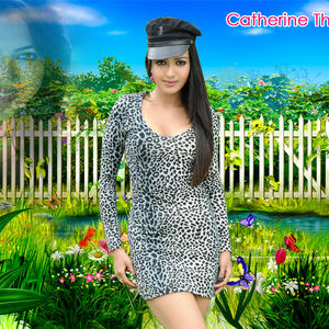 Catherine Tresa Glamour Hot Look Wallpaper Photo Still