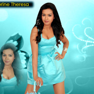 Catherine Tresa Sexy Look Hot Photo Wallpaper
