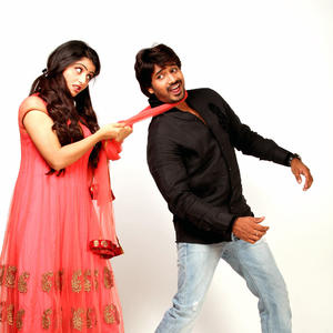 and surya teja funny cool pose still from paani poori telugu movie
