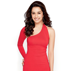smiling cutie shraddha kapoor in red dress gorgeous look photo shoot