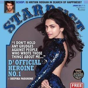 Bollywood Heroine No 1 Deepika On The Cover Of Stardust Rising Stars