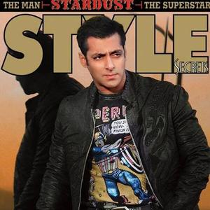 Salman Khan On The Cover Of Rising Stars Magazine Stardust Style