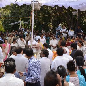 Akkineni Nagesh Rao Funeral Still