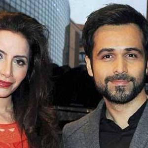 Emraan Hashmi And Wife  Parveen Shahani Cool Photo Still