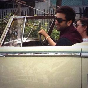 Ranbir Kapoor Cool Stylish Look At Mumbai's Republic Day Parade