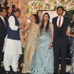 Political Bigwigs Attend Ahana Deol's Reception