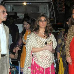 Stars Are Present At Kokilaben Ambani's Birthday Bash