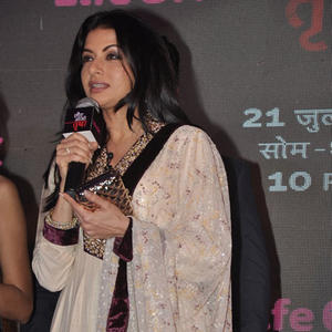 Bhagyashree Patwardhan Addressing The Media At The Press Conference Of Laut Aao Trisha