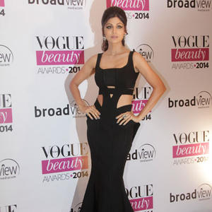 Shilpa Shetty Flaunted Her Fabulous Figure In A Cut-Out Dress