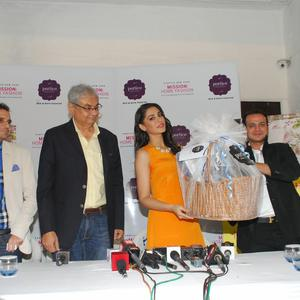 Bollywood Actress Nargis Launches Home Collection Brand Portico New York's New Series Mission Home Fashion