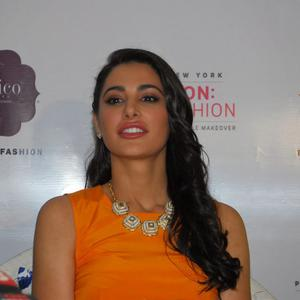 Nargis Fakhri Interact With Fans And Media At Portico New York Mission Home Fashion Launch Event