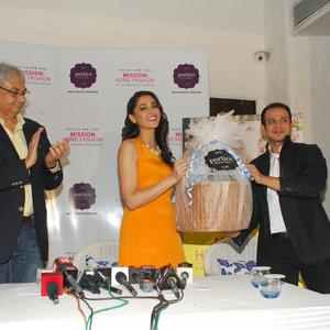 Nargis Fakhri Launches Portico New York Mission Home Fashion