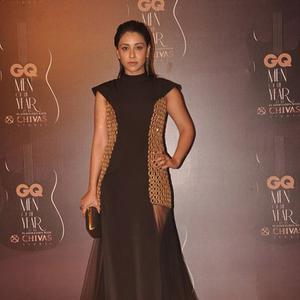 Amrita Puri Stunning Look During GQ Men Of The Year Awards 2014