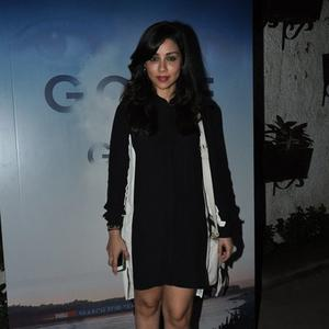 Amrita Puri In Black Outfit Nice Look During The Screening Of Gone Girl