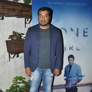 Anurag Kashyap Posed During The Screening Of Gone Girl