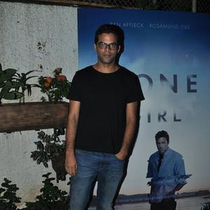 Lootera Director Vikramaditya Motwane Looks Somber At The Screening Of Gone Girl