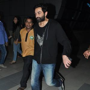 Bobby Deol Clicked At Mumbai International Airport