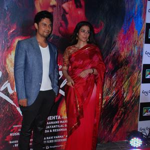 Randeep Hooda And Tabu On Red Carpet At The Screening Of Rang Rasiya
