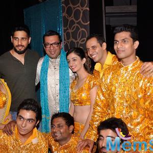 Sidharth Malhotra At Ashvin Gidwani's Blame It On Yashraj Show