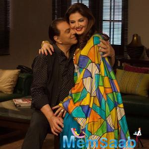 Dharmendra And Deepshika Clicked For Upcoming Film Second Hand Husband