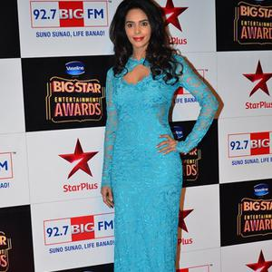 Mallika Sherawat Spotted At BIG STAR Entertainment Awards 2014