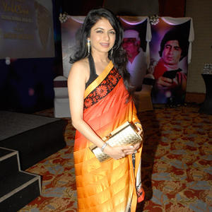 Bhagyashree Patwardhan Stunning Look In Saree During The 2nd Yash Chopra Memorial Award Ceremony