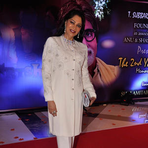 Simi Garewal Looks Graceful In Her Signature On Red Carpet At The 2nd Yash Chopra Memorial Award