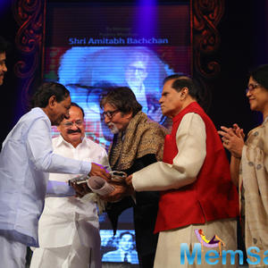 Amitabh Bachchan Received The ANR Award For Serving Indian Cinema From Decades