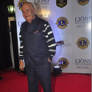 Prem Chopra Smiling Pose At 21st Lions Gold Awards