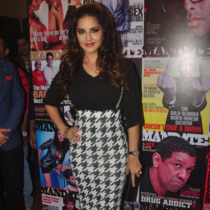 Sunny Leone Gorgeous Stunning Look During The Launch Of Mandate Magazine