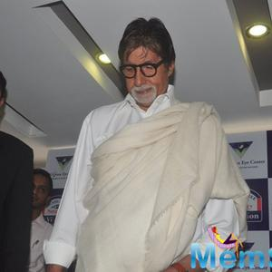 Amitabh Bachchan Arrived At Eye Care Technology Launch Event