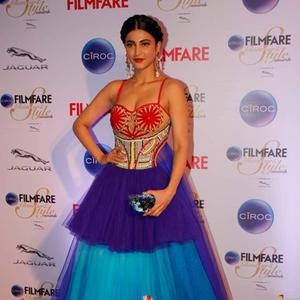 Shruti Haasan Glamour Look At The Ciroc Filmfare Glamour And Style Awards 2015
