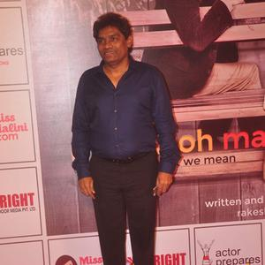 Johnny Lever Attend The Premiere Of Anupam Kher N