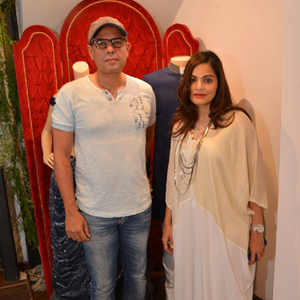 Atul Agnihotri And Wife Alvira Khan Graced At The Launch Of Avinash Punjabi Store
