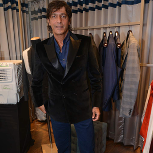Chunky Pandey Present At The Launch Of Avinash Punjabi Store