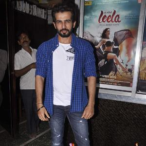 Jay Bhanushali With A Smartlook Spotted Ek Paheli Leela Promotions In Gaiety